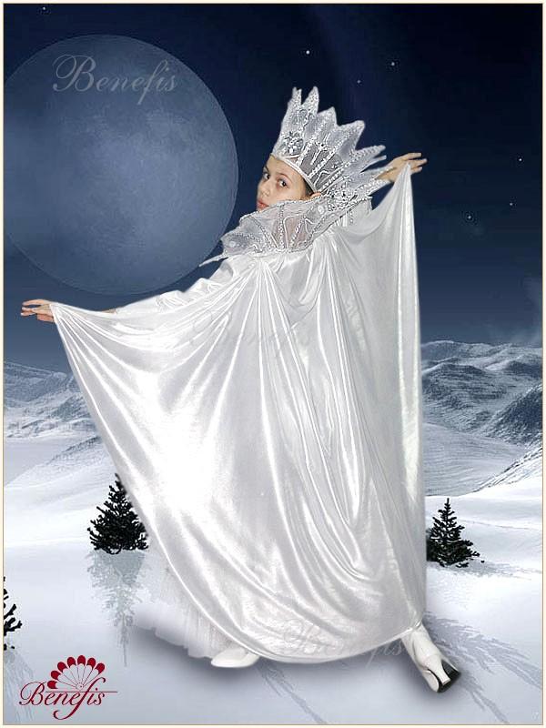 Как сделать мантию снежной королевы своими руками
