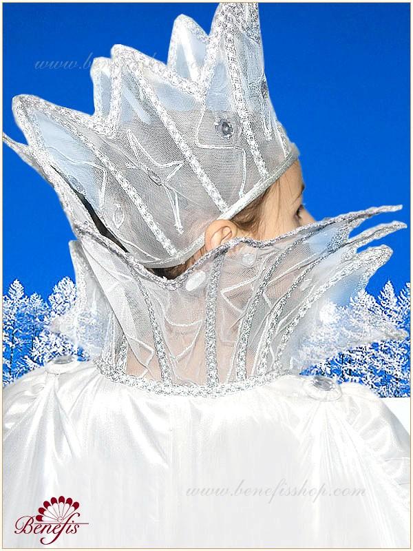 Головной убор для снежной королевы своими руками